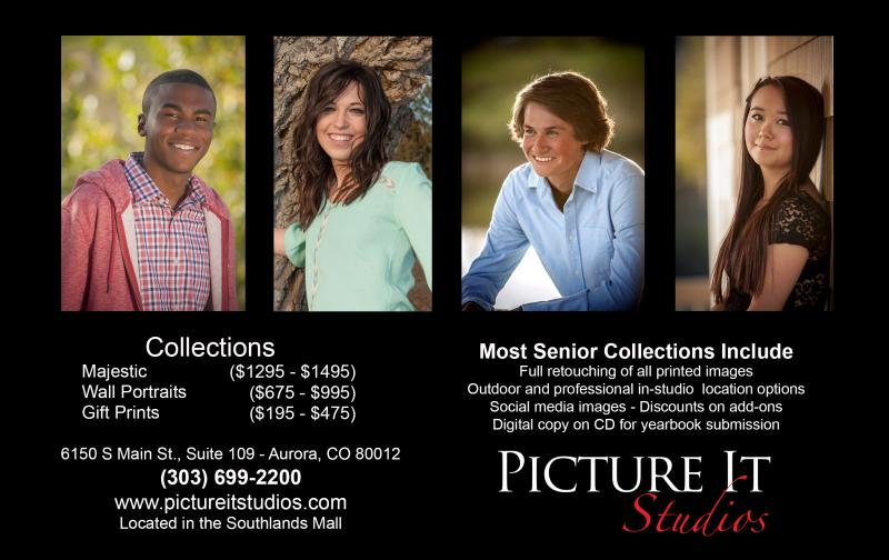 2018 Senior Portrait Collections from $225