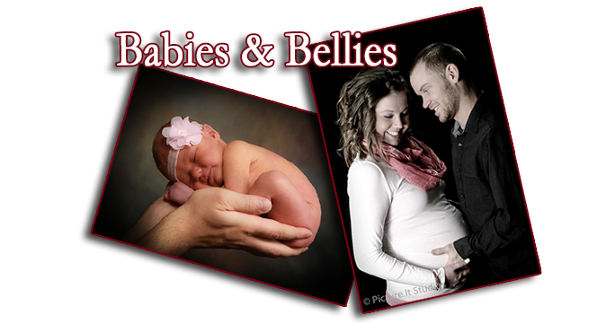 Babies and bellies maternity newborn portraits